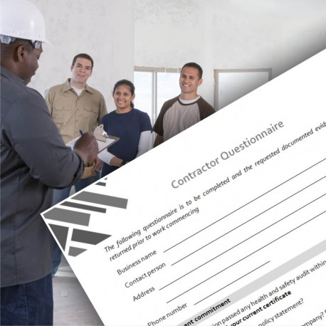 Contractor Questionnaire