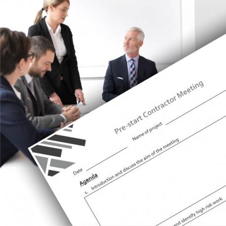 Pre-start Contractor Meeting