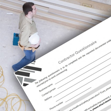 Sel-employed Contractor Questionnaire
