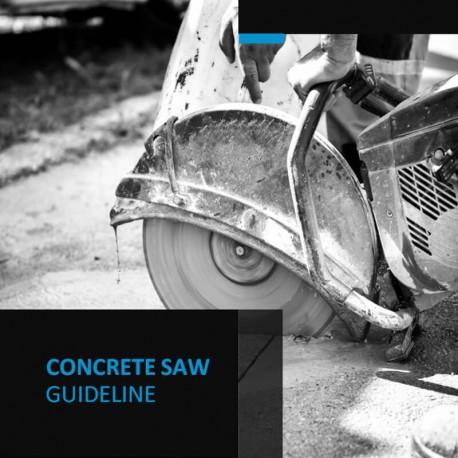Concrete Saw Guideline
