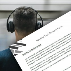 Consent Form - Hearing