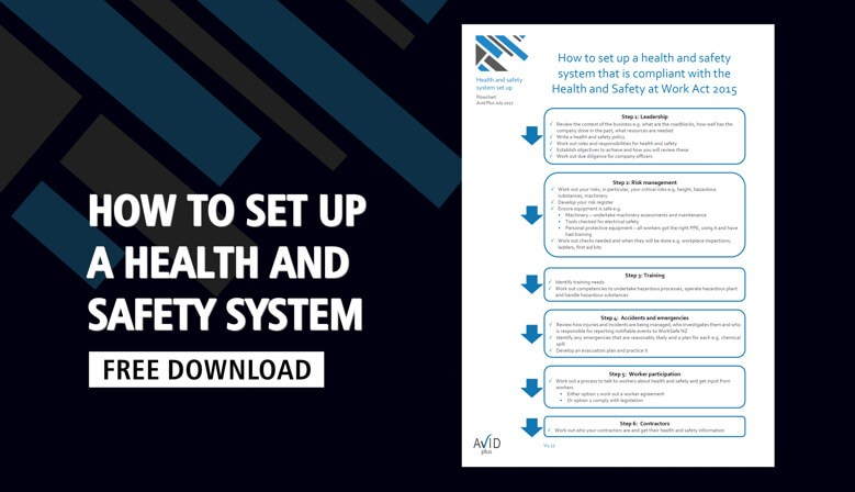 How to set up a Health and Safety system