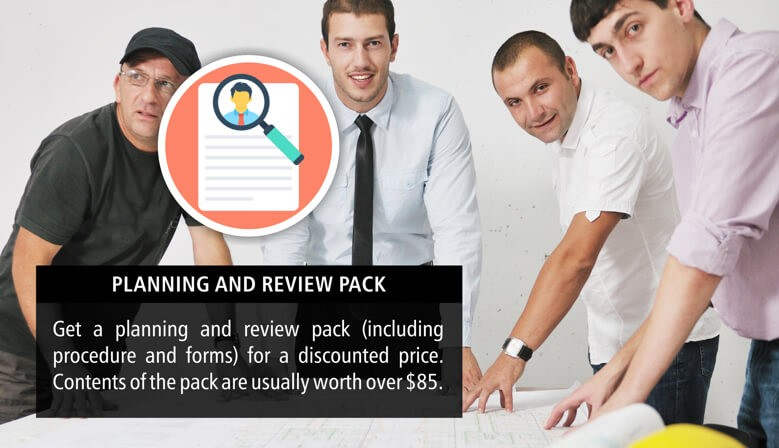 Planning and Review Pack